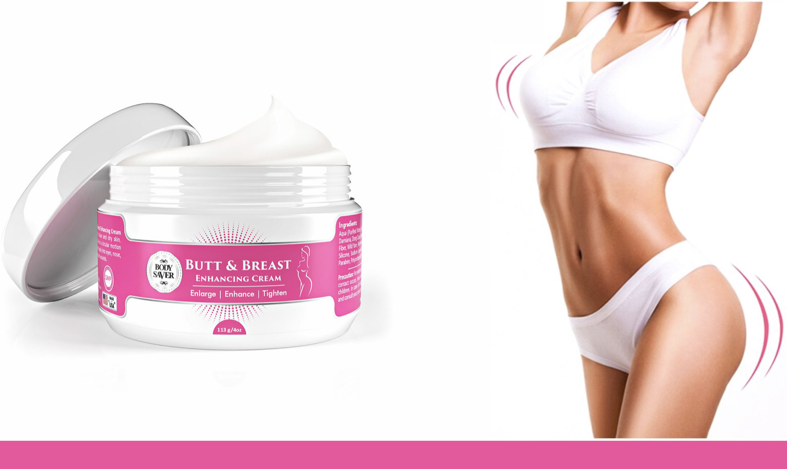 Butt and Breast Enhancing Cream